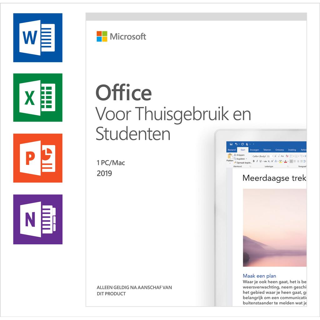 Microsoft Office 2019 Thuisgebruik en Studenten NL