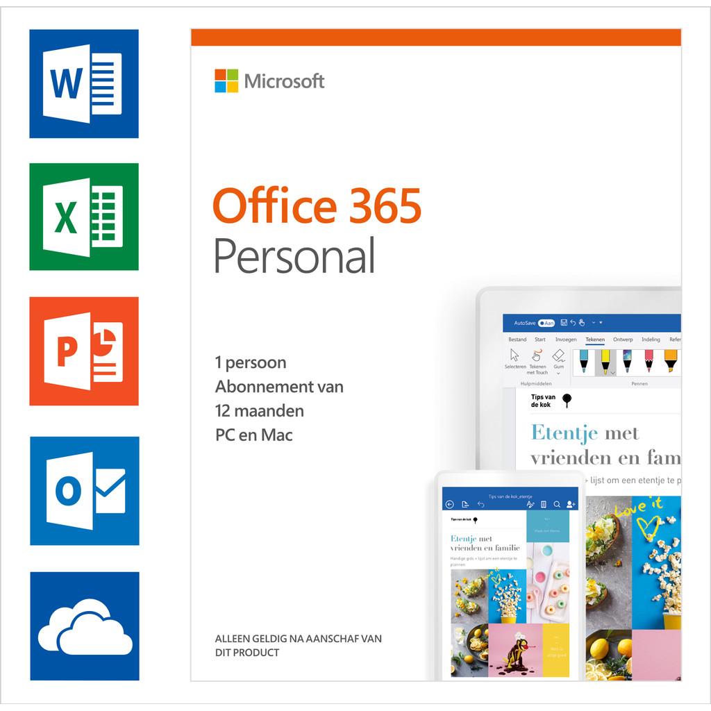Microsoft Office 365 Personnel Abonnement 1 an NL