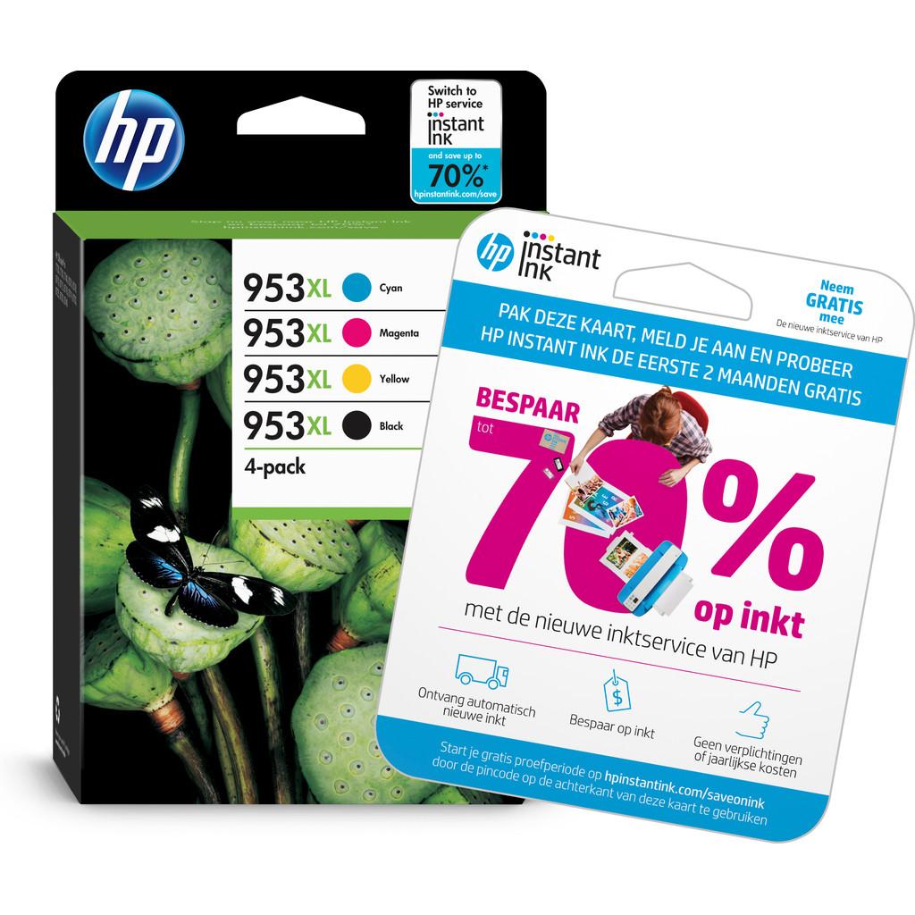 HP 953XL Pack de 4 cartouches de couleur (3HZ52AE)