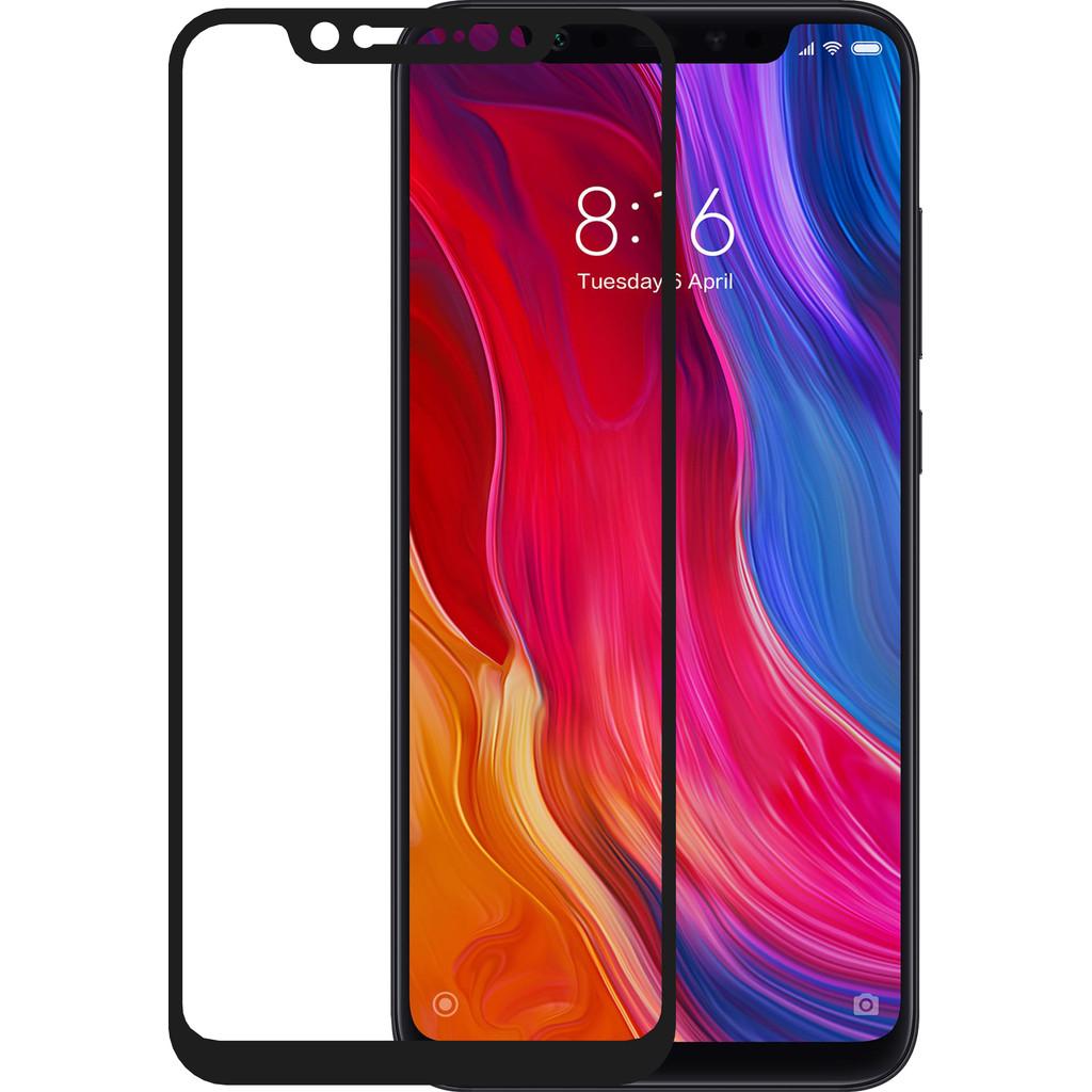 Azuri Protège-écran Verre trempé Xiaomi Mi 8 Noir
