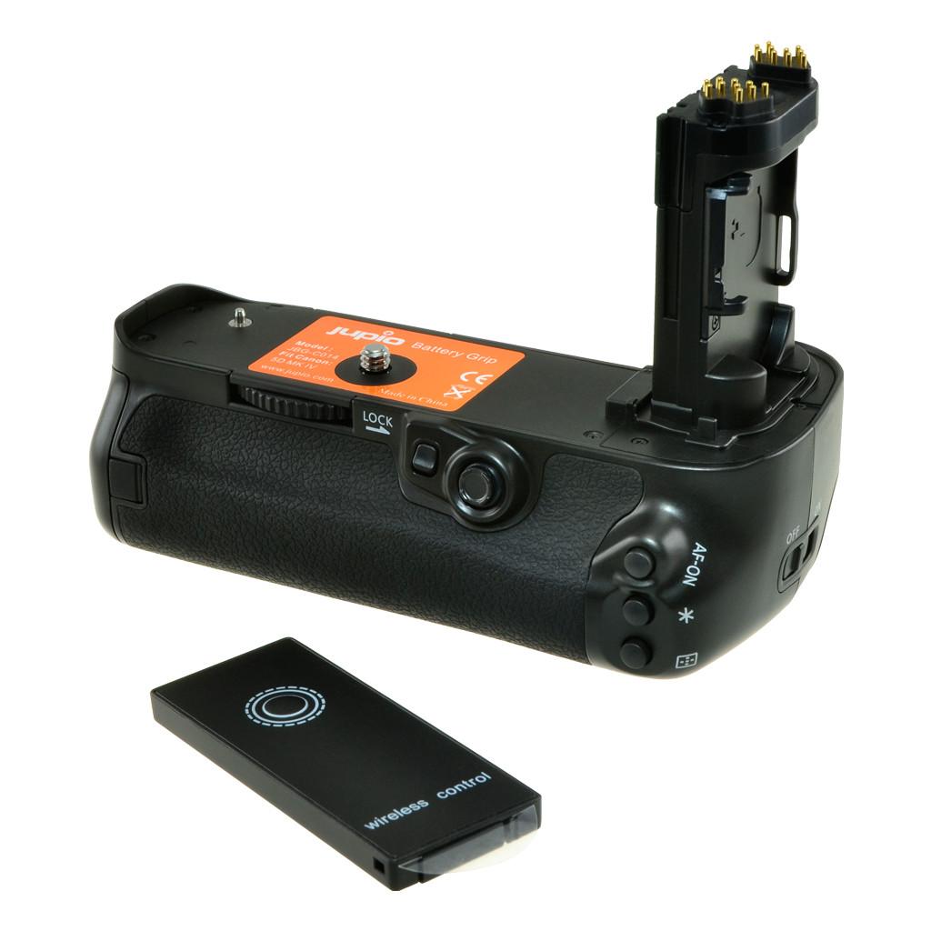 Jupio Poignée d'alimentation pour Canon 5D Mark IV (BG-E20)