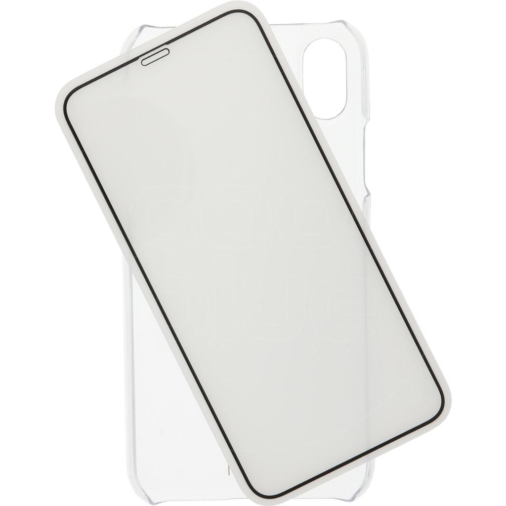 Azuri Protection Coque intégrale Apple iPhone Xr Noir