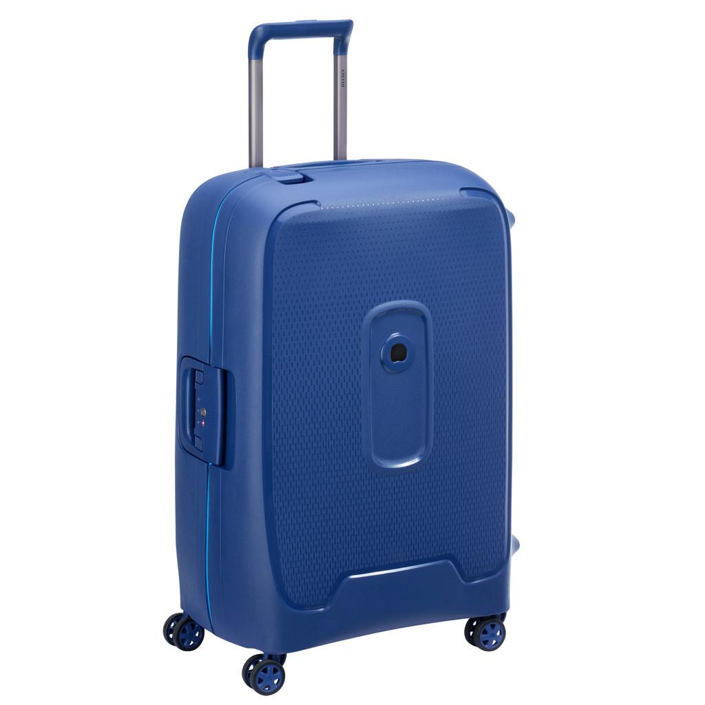 Delsey Moncey Valise-trolley 69 cm Bleu marine