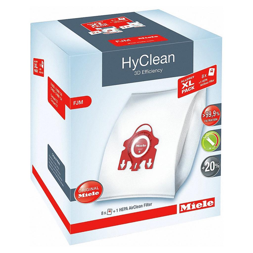 Miele xl-pack Hyclean 3D FJM + Filtre HEPA