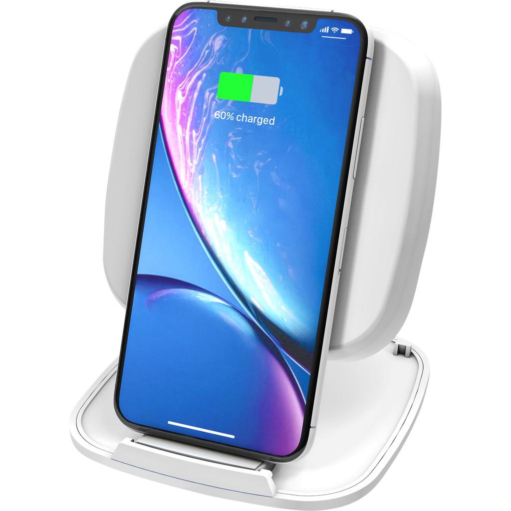 ZENS Single Fast Chargeur sans fil Support 10 W Blanc