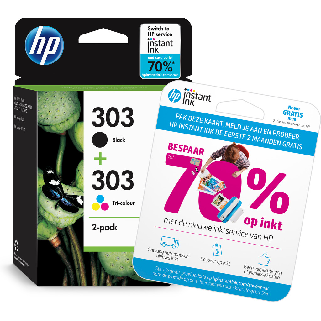 HP 303 Pack 4 Couleurs (3YM92AE)