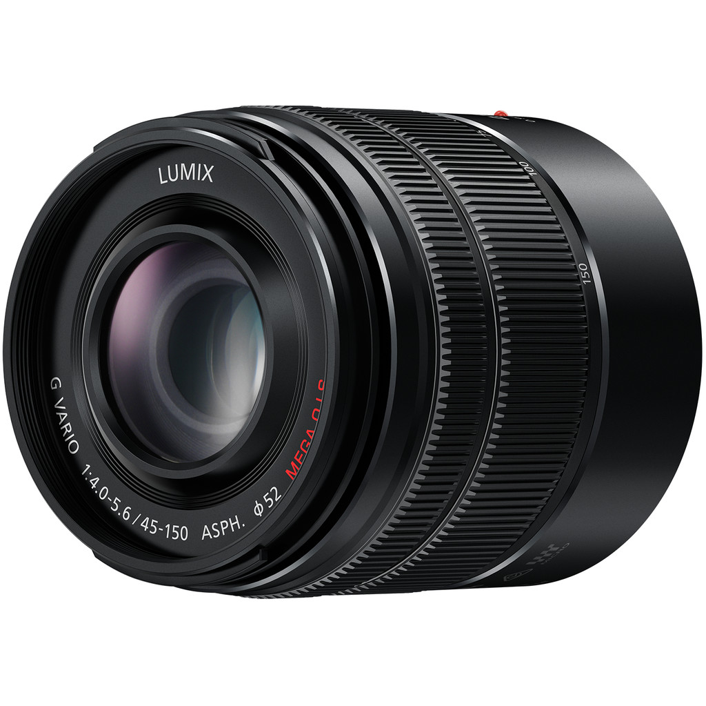 Panasonic Lumix G Vario 45-150 mm f/4.0-5.6 ASPH. MEGA Noir