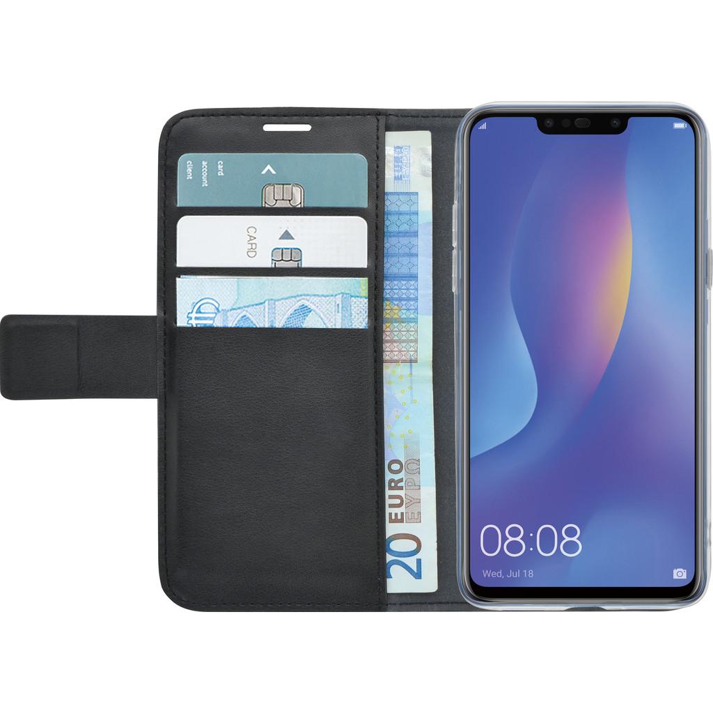 Azuri Wallet Bookcase Magnétique Huawei P Smart Plus Noir