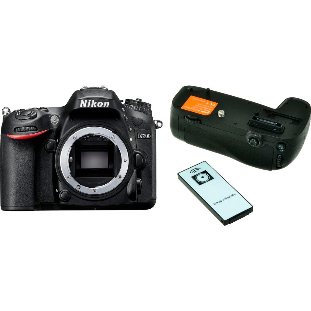 Nikon D7200 Boîtier + Jupio Batterygrip (JBG-N013)