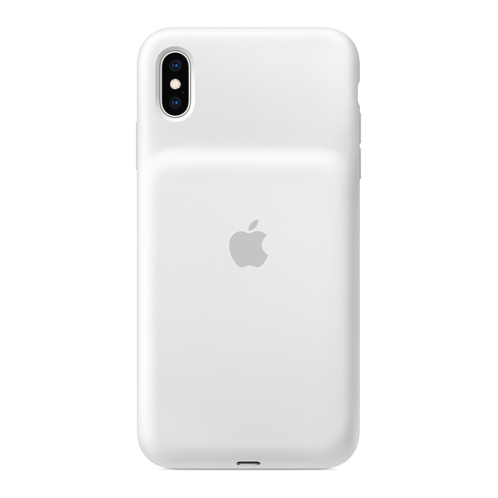 Apple Smart Battery Case iPhone Xs Max Blanc
