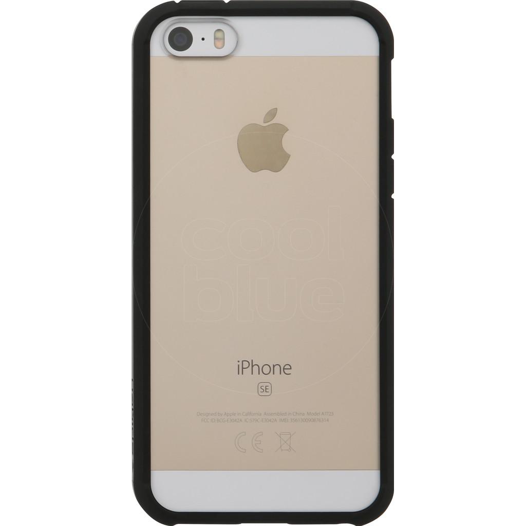 Spigen Ultra Hybrid Apple iPhone 5/5s/SE Zwart