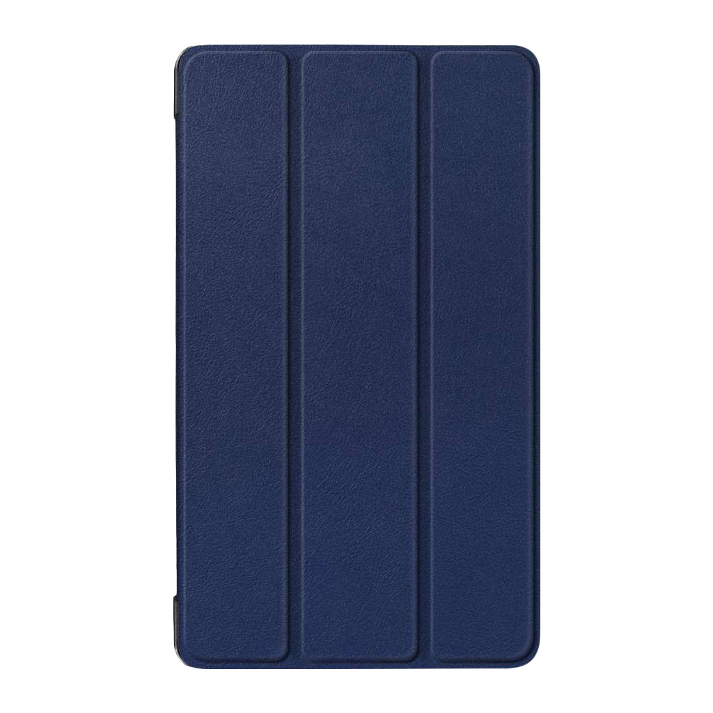 Just in Case Smart Tri-Fold Book case Lenovo Tab E7 Bleu