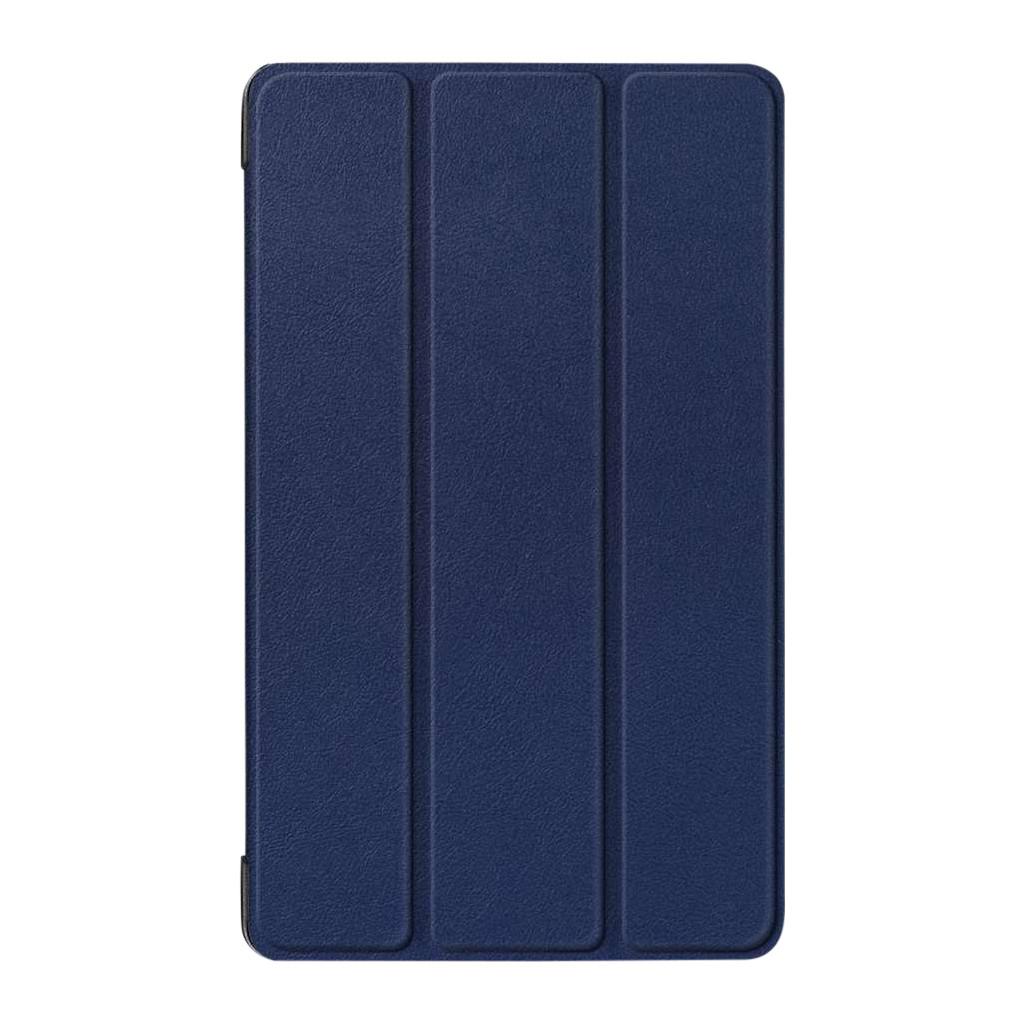 Just in Case Smart Tri-Fold Book case Lenovo Tab E8 Bleu