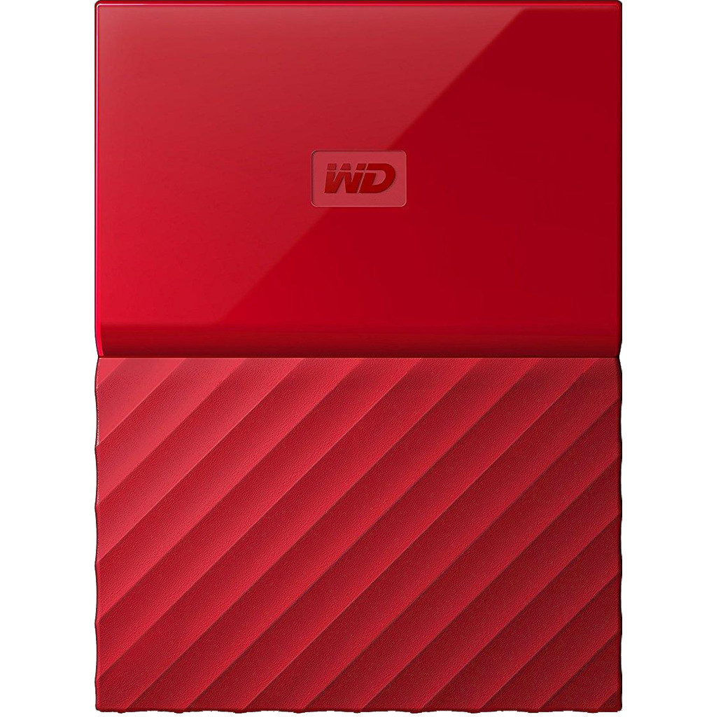 WD My Passport 2 To Rouge