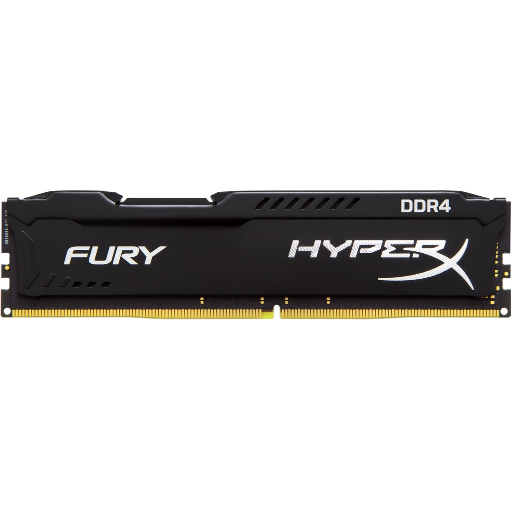 Kingston 16 Go DDR4 DIMM HyperX FURY Noir