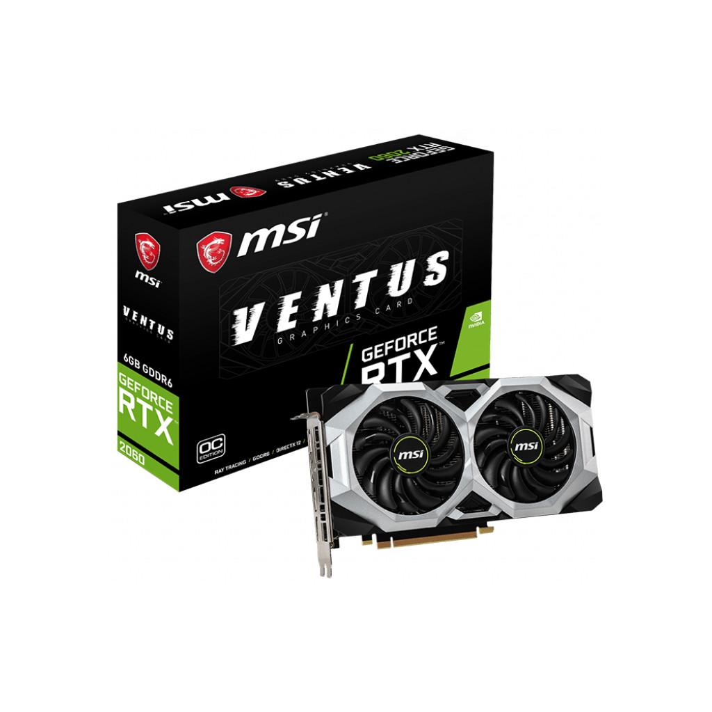MSI Geforce 6 Go D6 RTX 2060 Ventus 6G OC