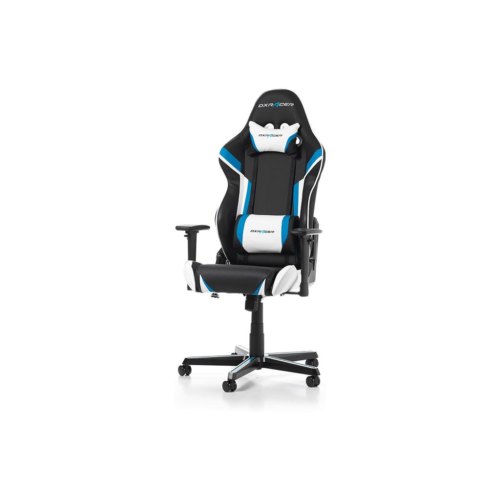 DXRacer RACING Chaise gaming Noir/Bleu/Blanc