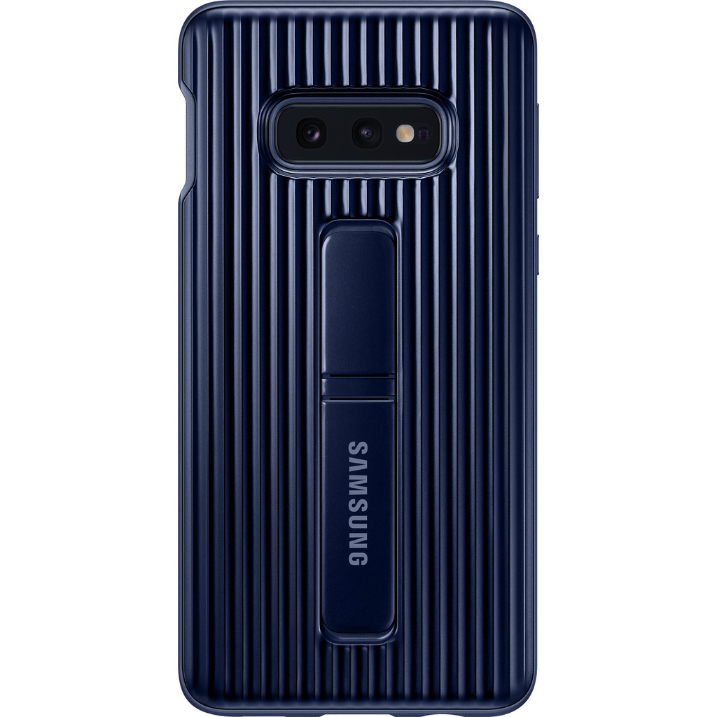 Samsung Galaxy S10e Coque renforcée Bleu