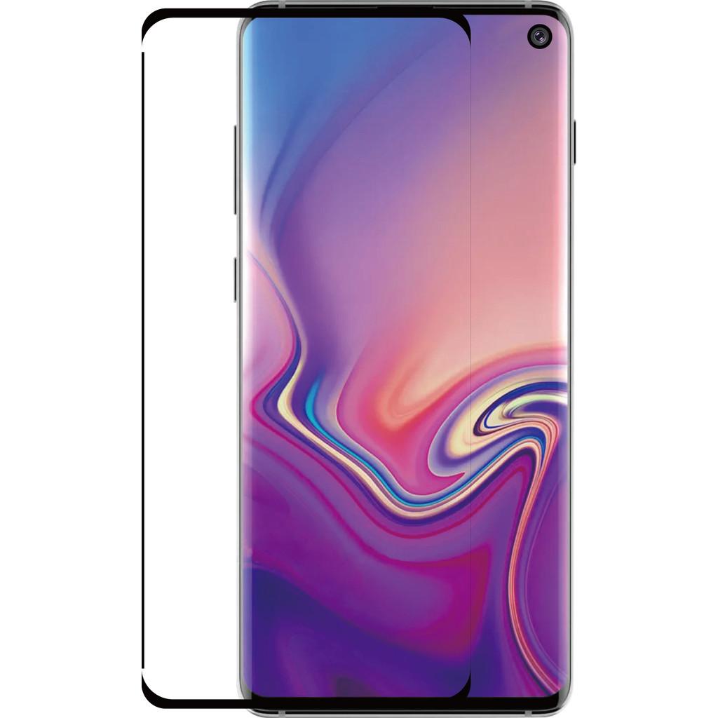 Azuri Protège-écran Incurvé Verre trempé Galaxy 10e Noir