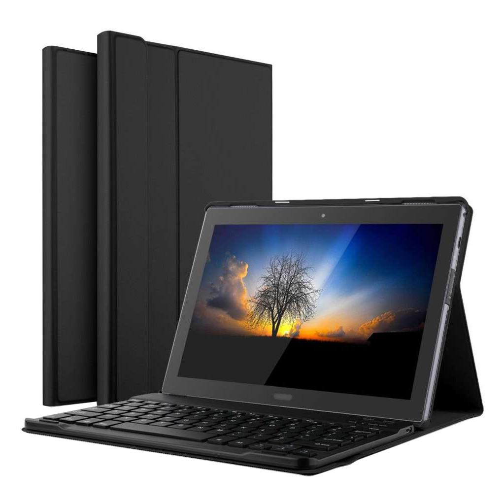 Just in Case Premium Lenovo Tab 4 10 Plus Noir AZERTY