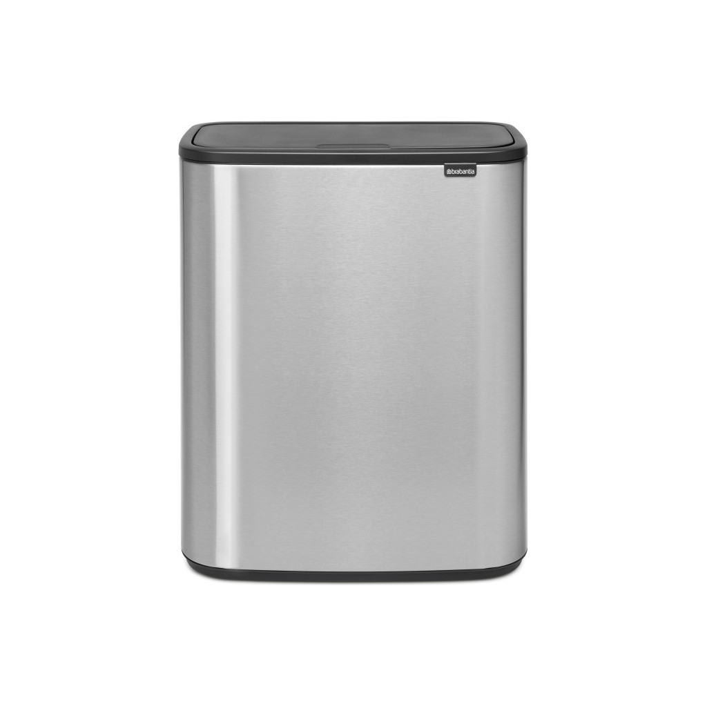 Brabantia Bo Touch Bin 60 Litres Steel Fingerprint Proof