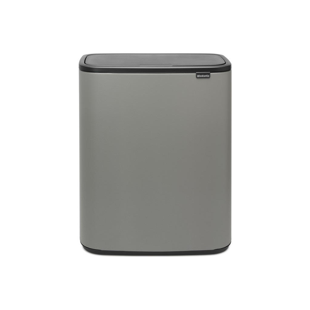 Brabantia Bo Touch Bin 60 Litres Mineral Concrete Grey