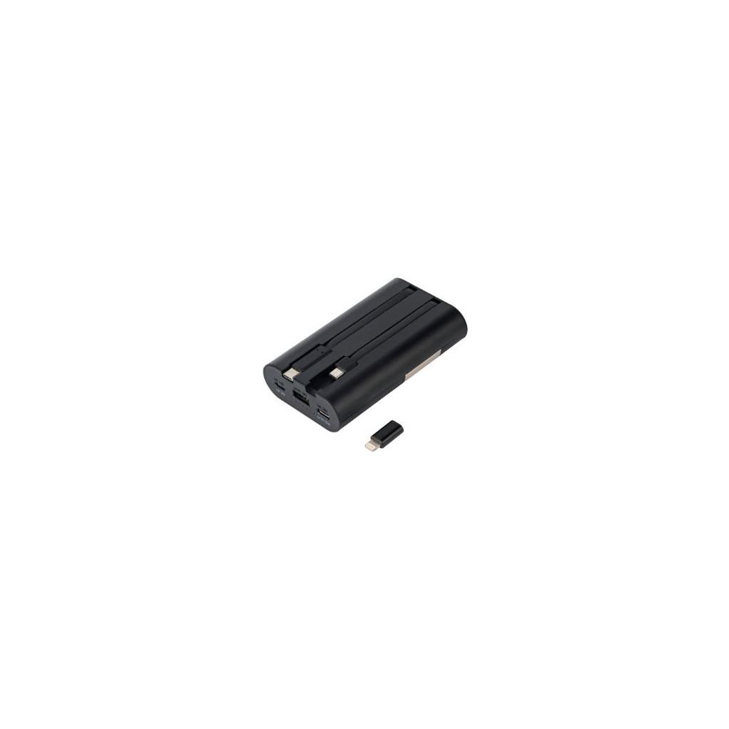 iWalk Secretary+ Quick Charge Batterie externe 10.000 mAh Noir