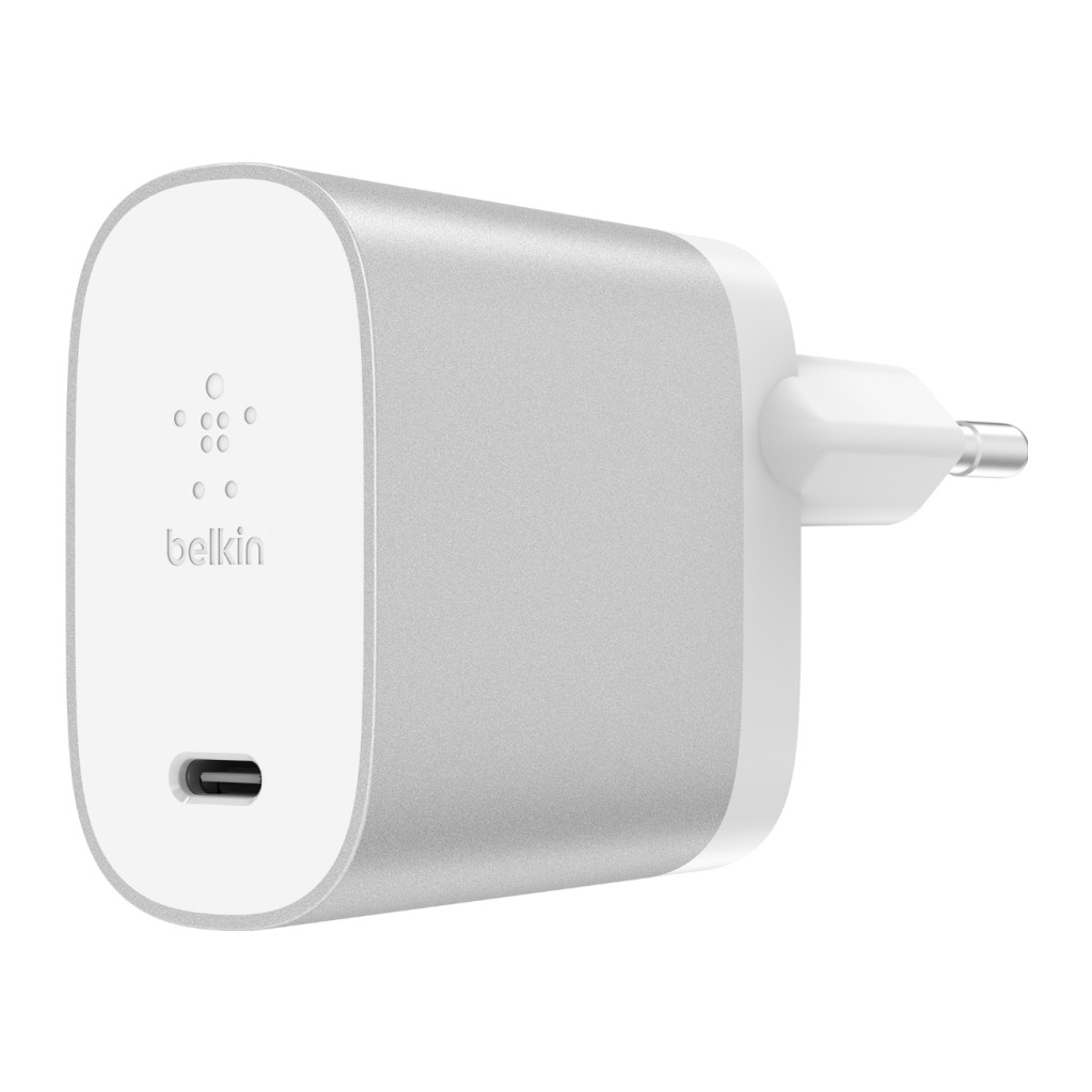 Belkin Chargeur secteur USB-C Boost Charge Power Delivery 27 W Argent