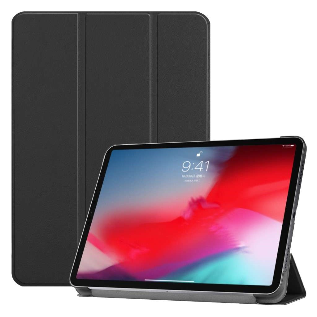 Just in Case Book case Tri-Fold Smart Apple iPad Pro 11 pouces Noir