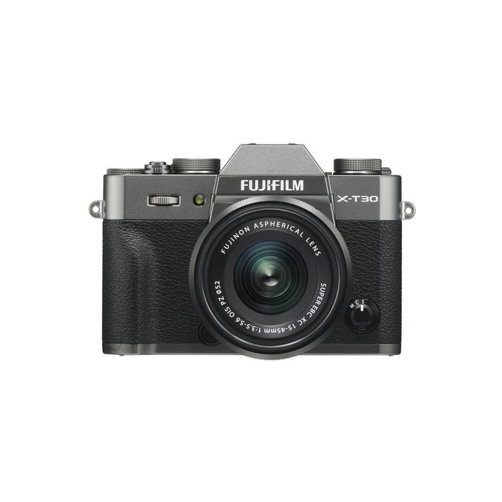 Fujifilm X-T30 Gris foncé + XC 15-45 mm f/3.5-5.6 OIS PZ