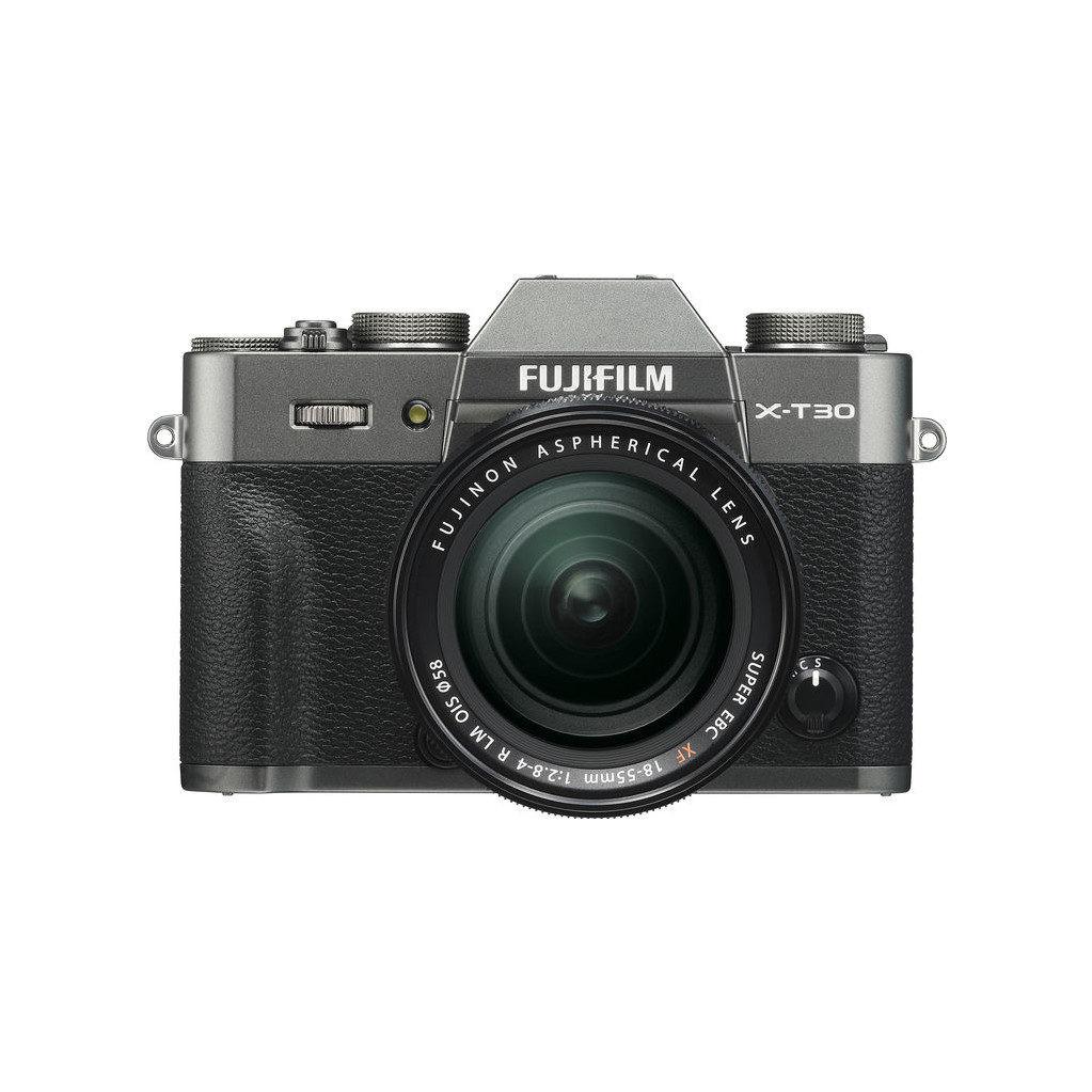 Fujifilm X-T30 Gris foncé + XF 18-55 mm f/2.8-4.0 R LM OIS