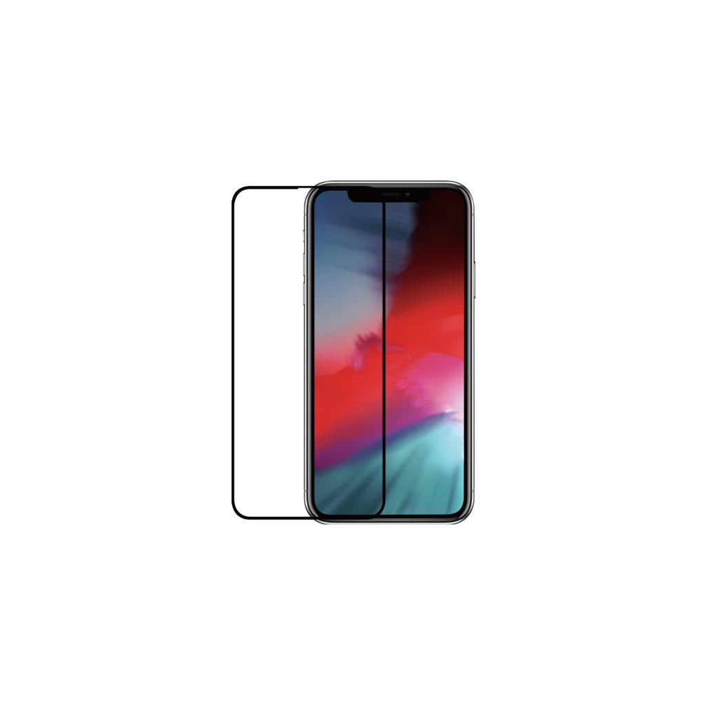 Azuri Protège-écran en verre trempé pour Apple iPhone Xs Max Noir