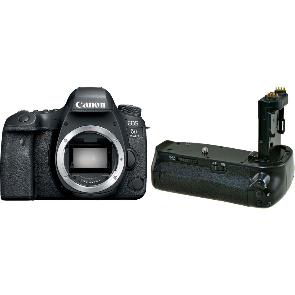Canon EOS 6D Mark II + Poignée d'alimentation Jupio (BG-E21)
