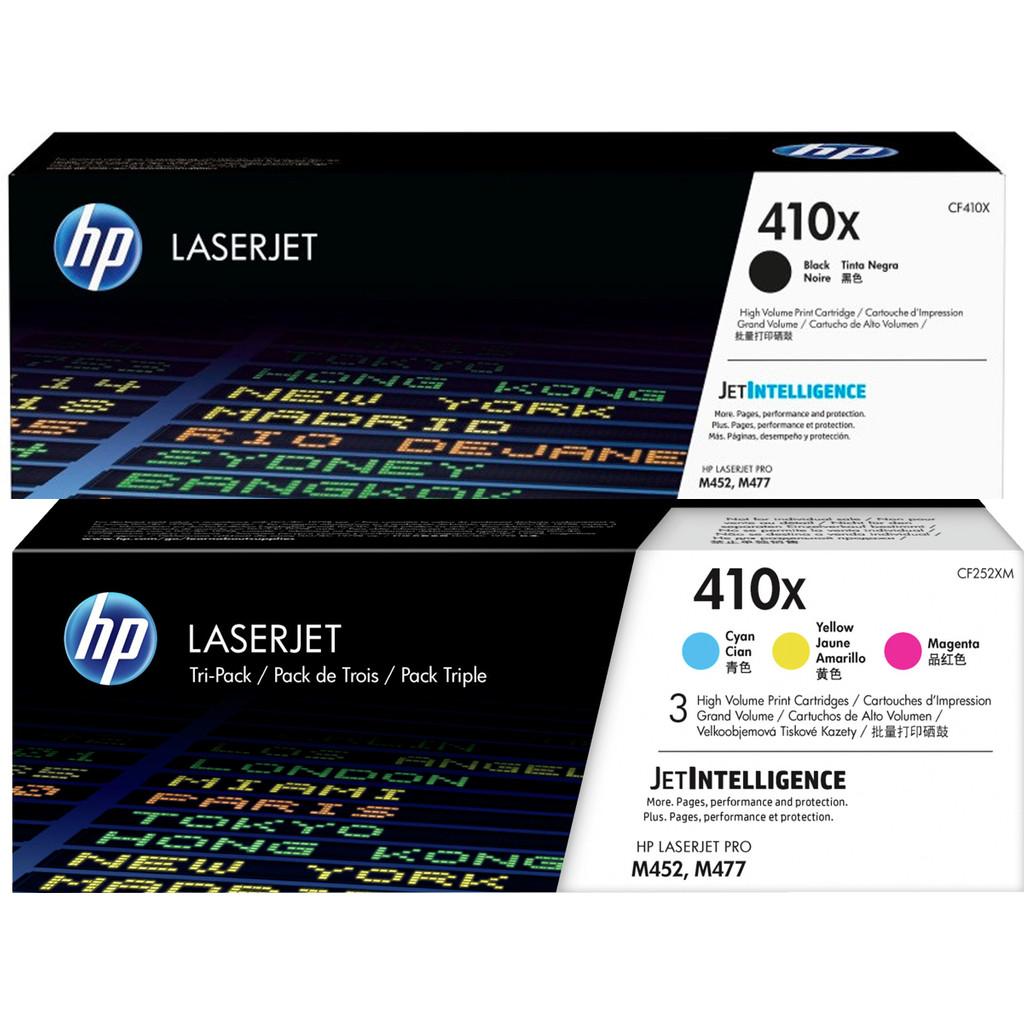 HP 410X Pack combiné Toner 4 couleurs