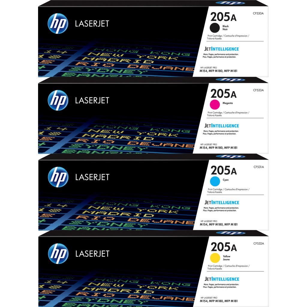 HP 205A Pack combiné Toner 4 couleurs
