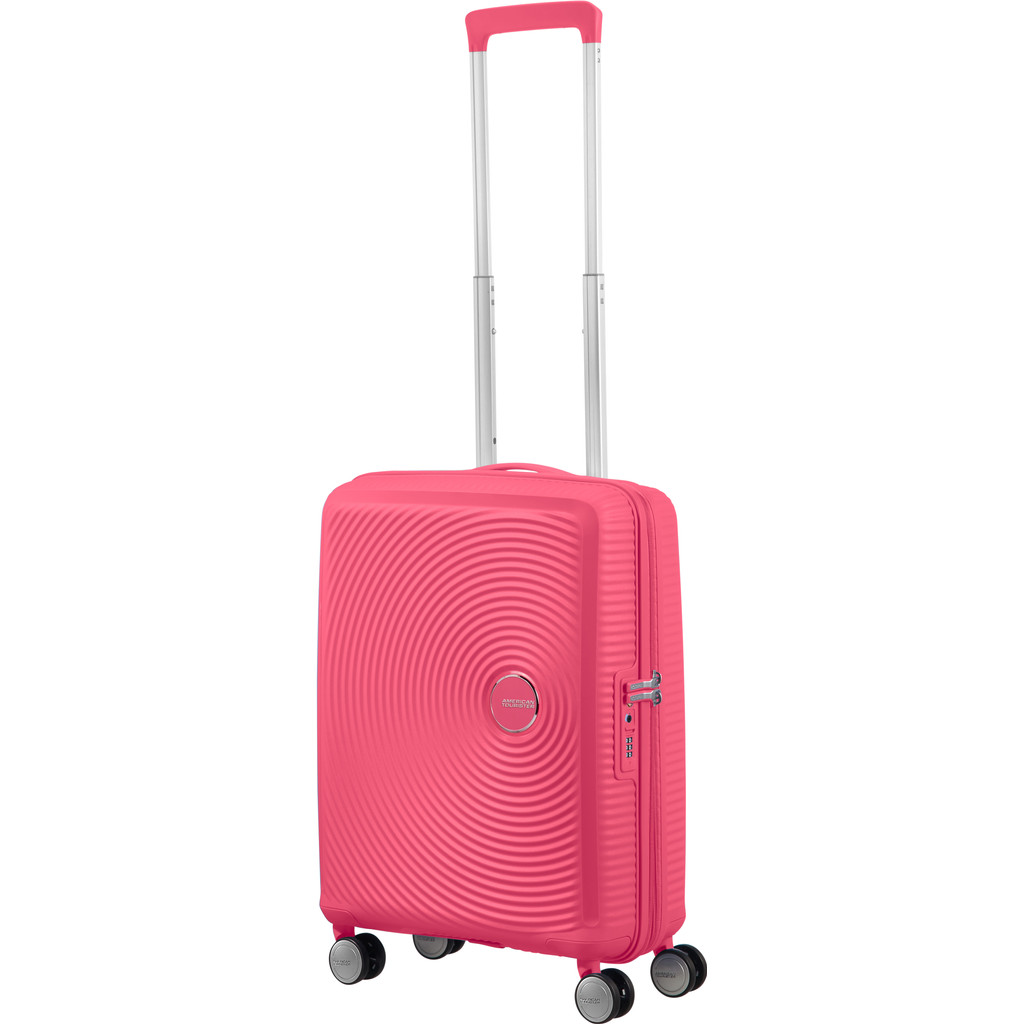 American Tourister Soundbox Expandable Spinner 55cm Hot Pink