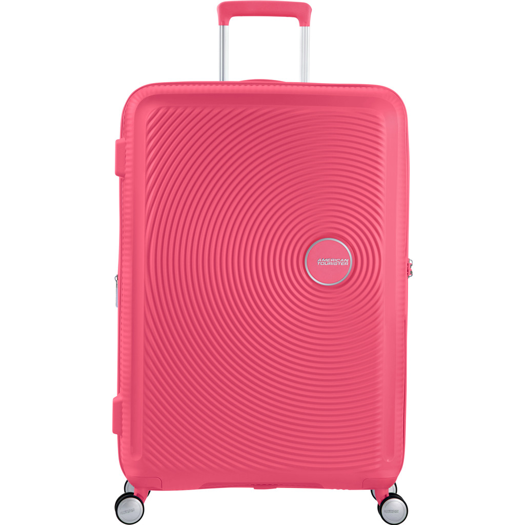 American Tourister Soundbox Valise à 4 roulettes extensible 77 cm Hot Pink