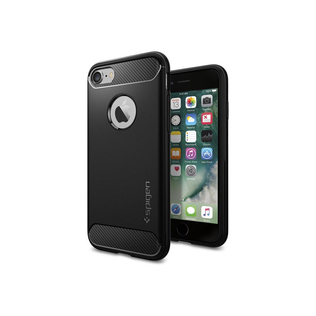 Spigen Rugged Armor Apple iPhone 7/8 Zwart