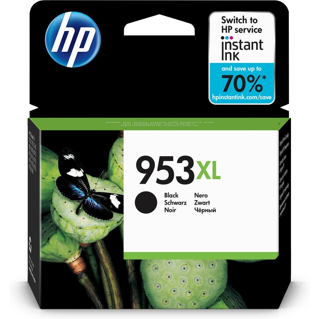 HP 953XL Cartridge Zwart (L0S70AE)