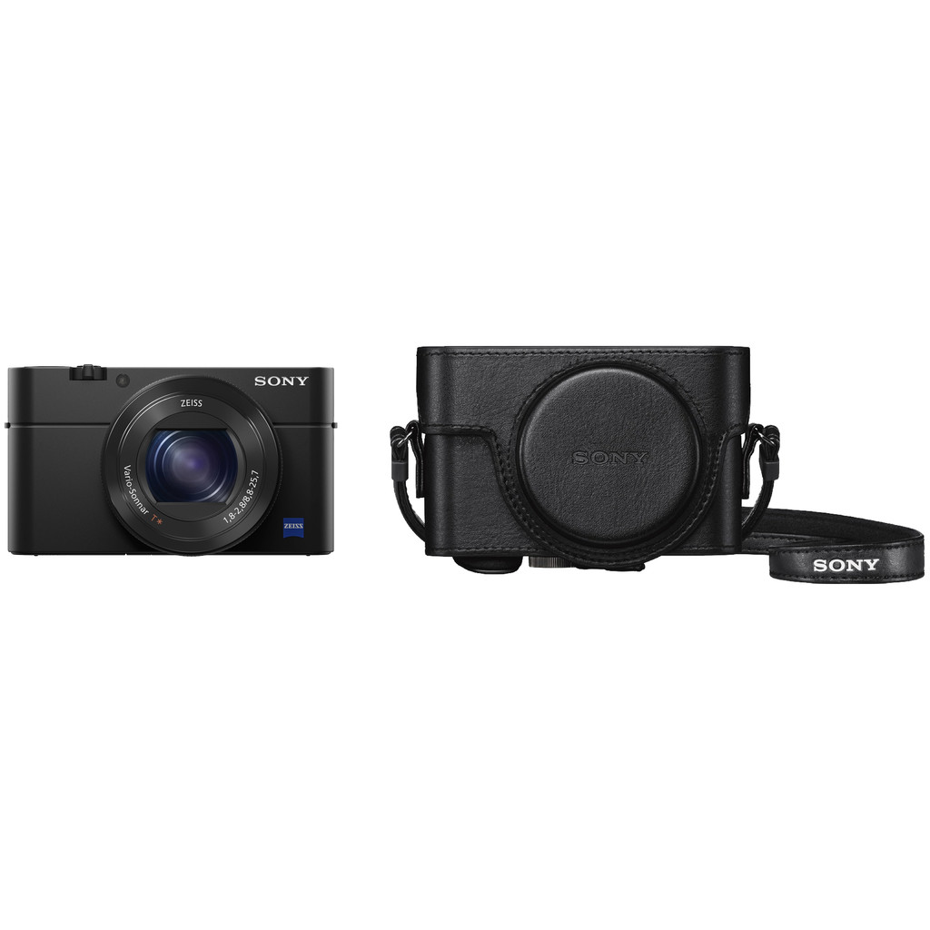 Sony Cybershot DSC-RX100 IV + LCJ-RXF hoes