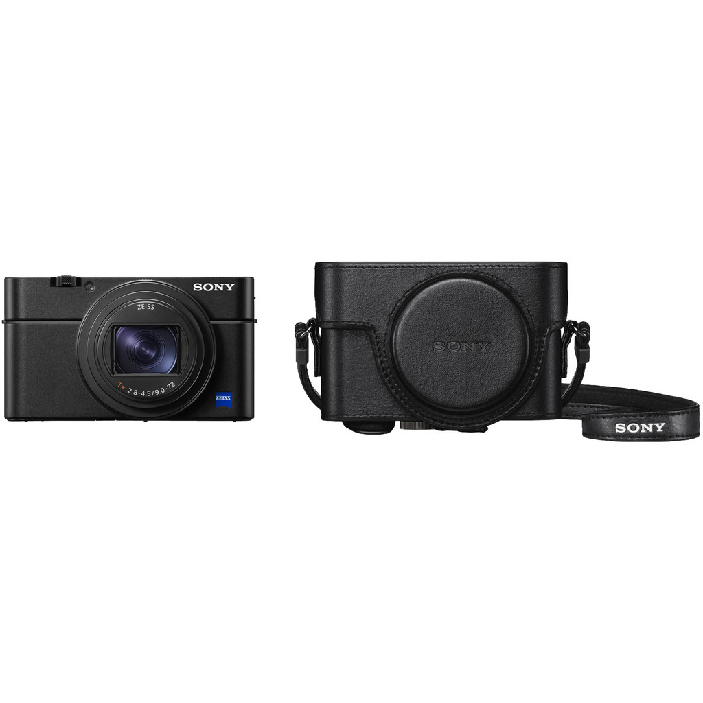 Sony CyberShot DSC-RX100 VI + LCJ-RXF hoes