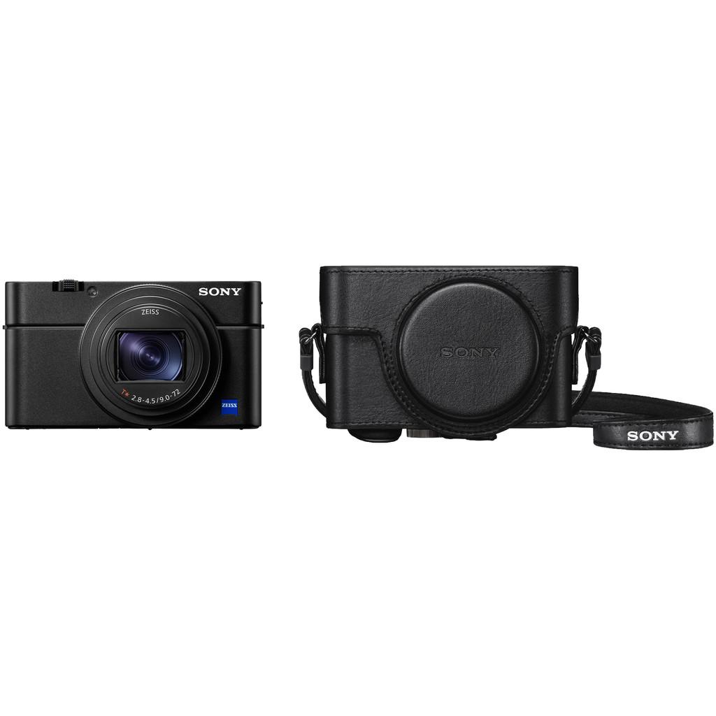 Sony CyberShot DSC-RX100 VII + LCJ-RXF hoes