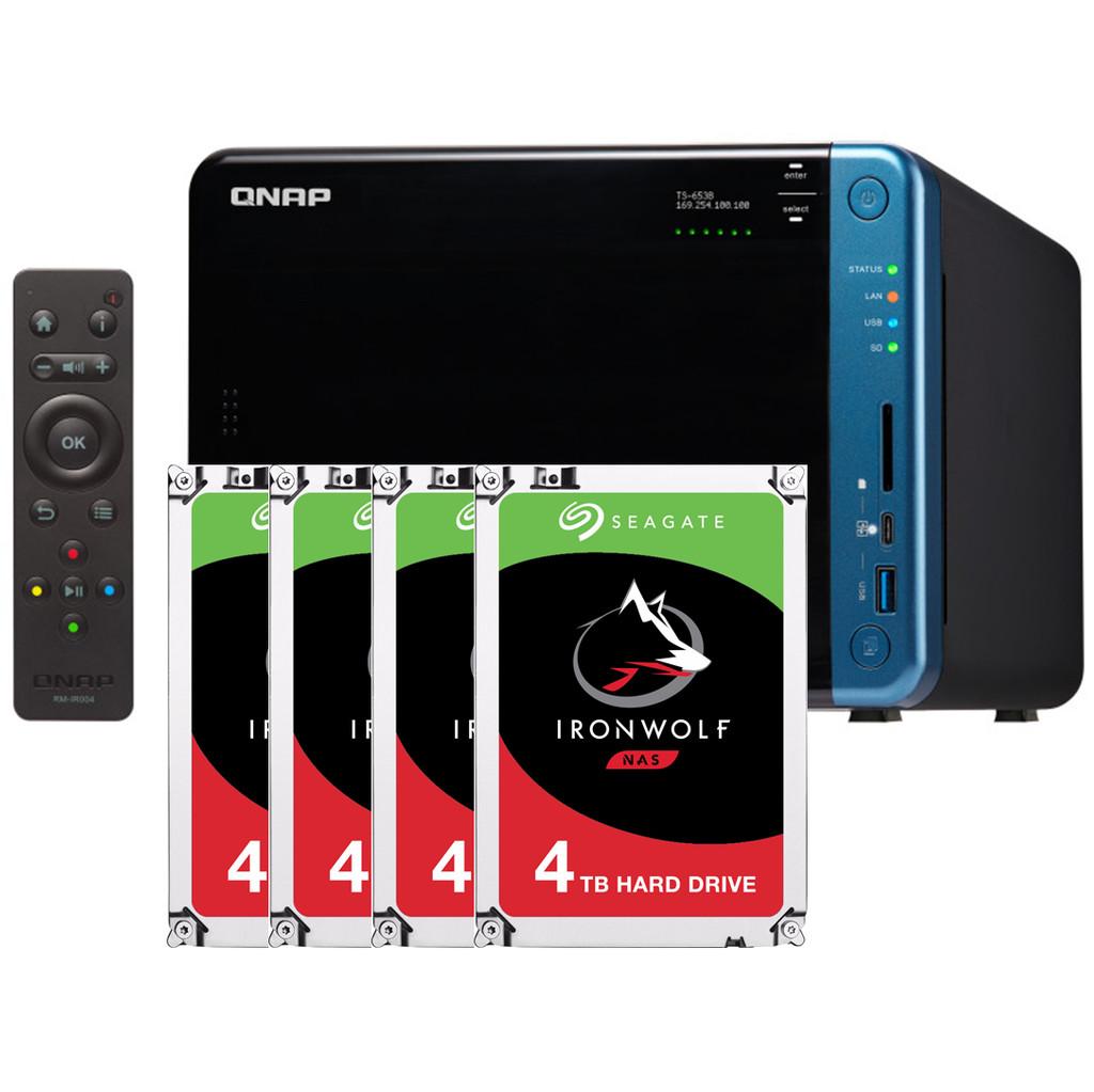QNAP TS-653B 4 GB + 4x 4TB