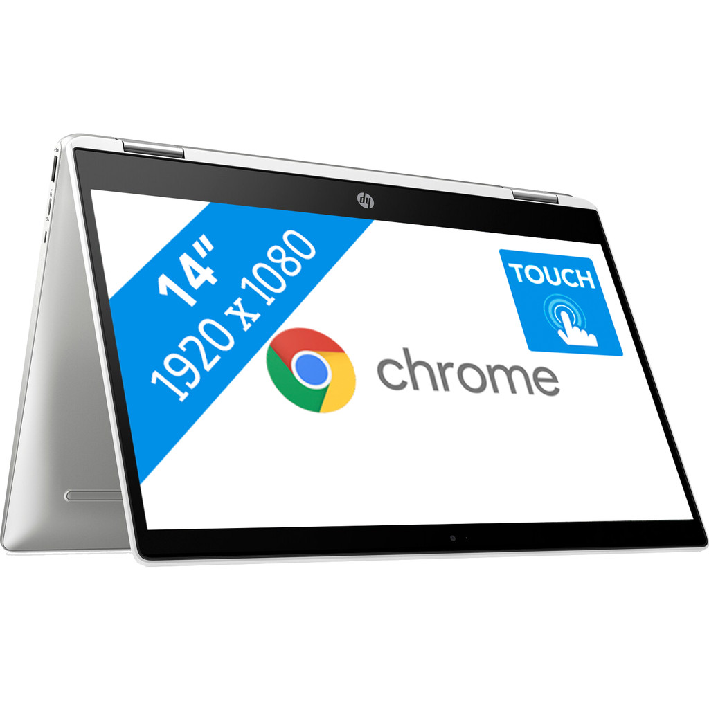 HP Chromebook x360 14b-ca0007nb Azerty
