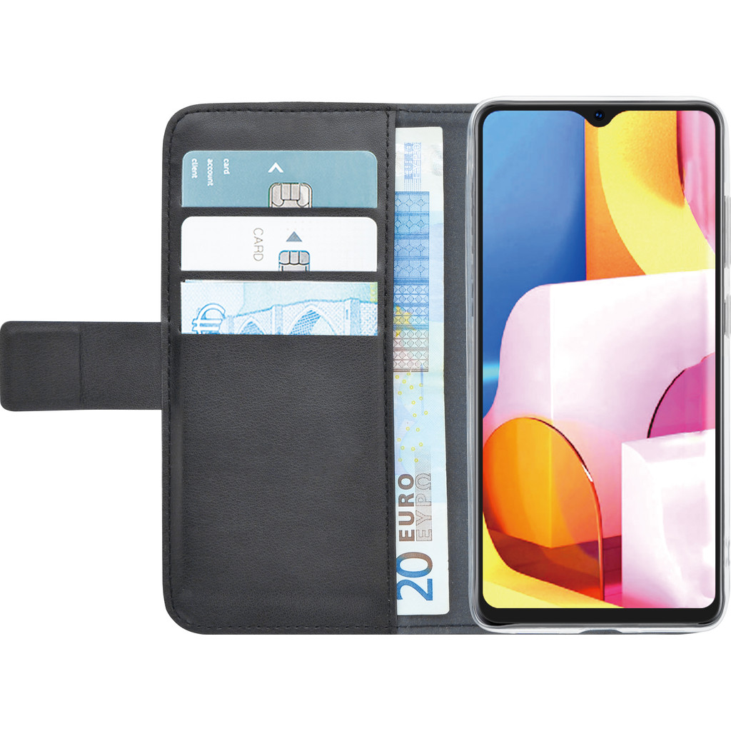 Azuri Wallet Samsung Galaxy A71 Book Case Zwart