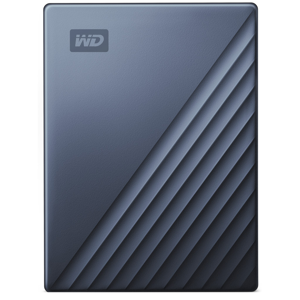 WD My Passport for Mac 5TB Type C Blauw
