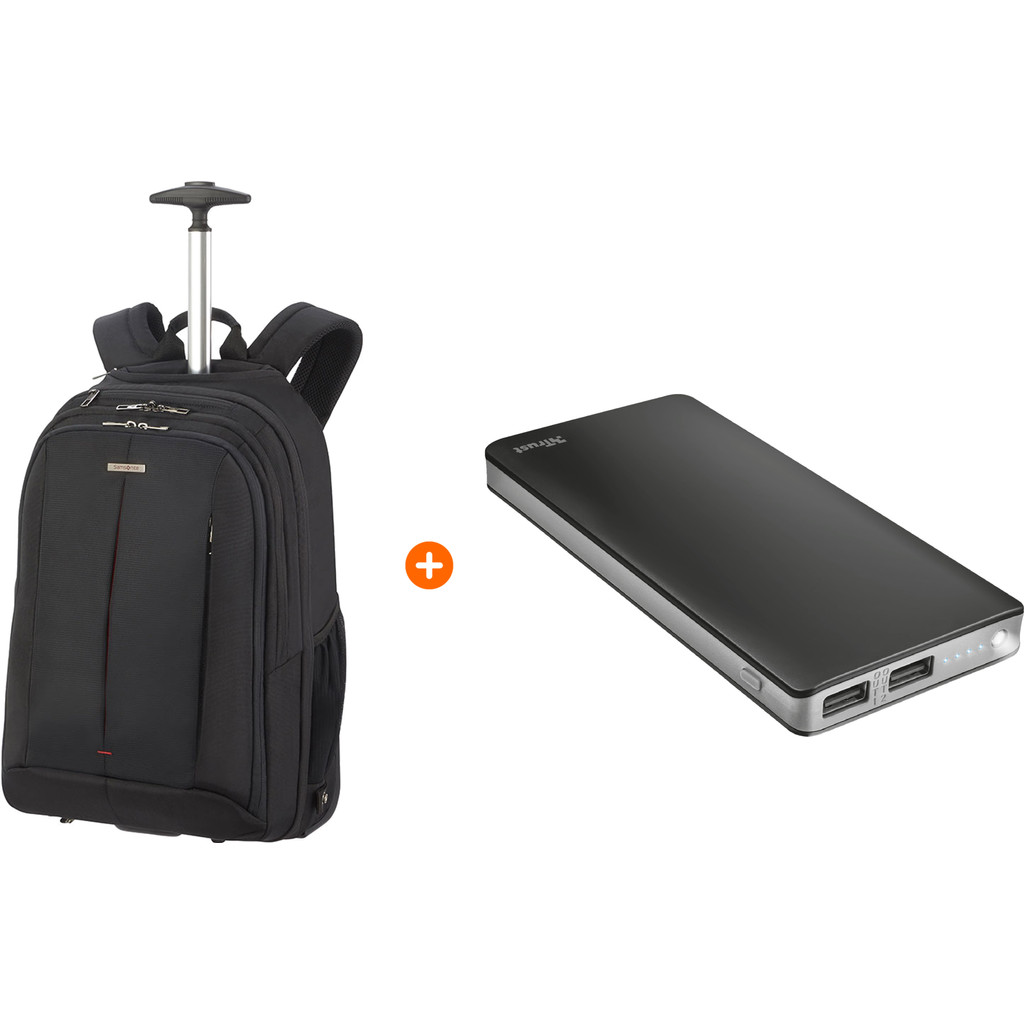 Samsonite GuardIt 2.0 15'' Black + Trust Primo Thin Powerban