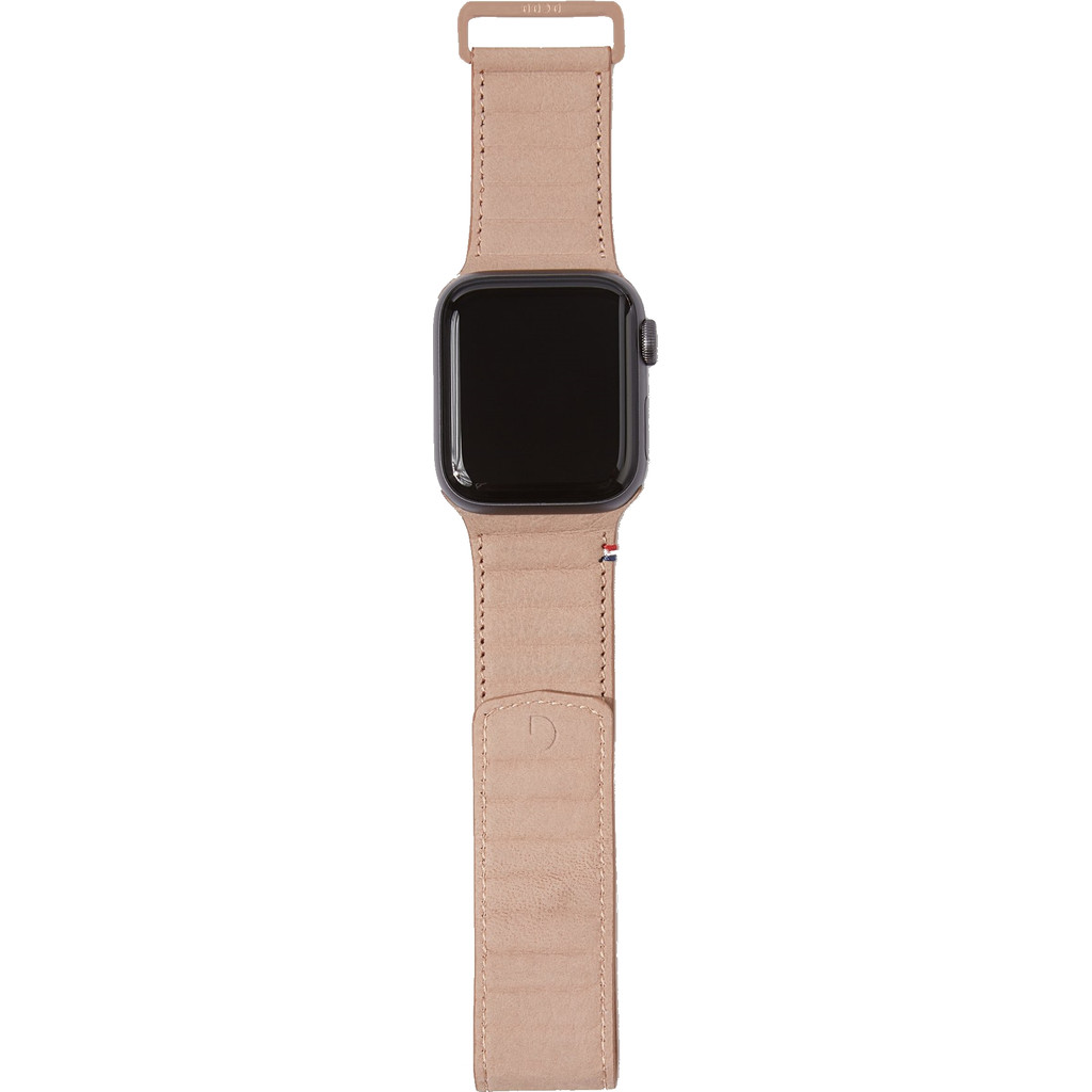 Decoded Apple Watch 40mm/38mm Leren Bandje Crème