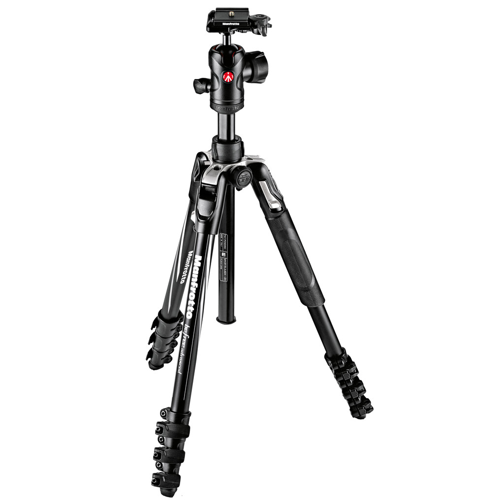 Manfrotto Advanced Aluminum Travel Tripod Lever + balhoofd