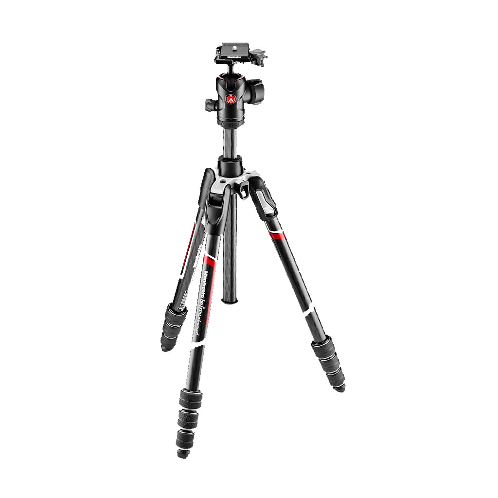 Manfrotto Befree Advanced Carbon Fibre Travel Tripod Twist + balhoofd